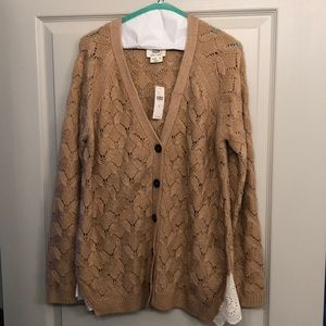 Anthropologie Button Up Cardigan